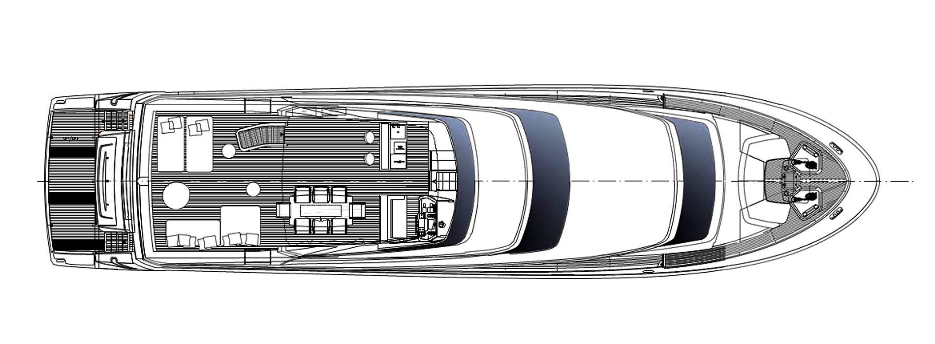 Sanlorenzo Yachts SL96-623 Außendeck