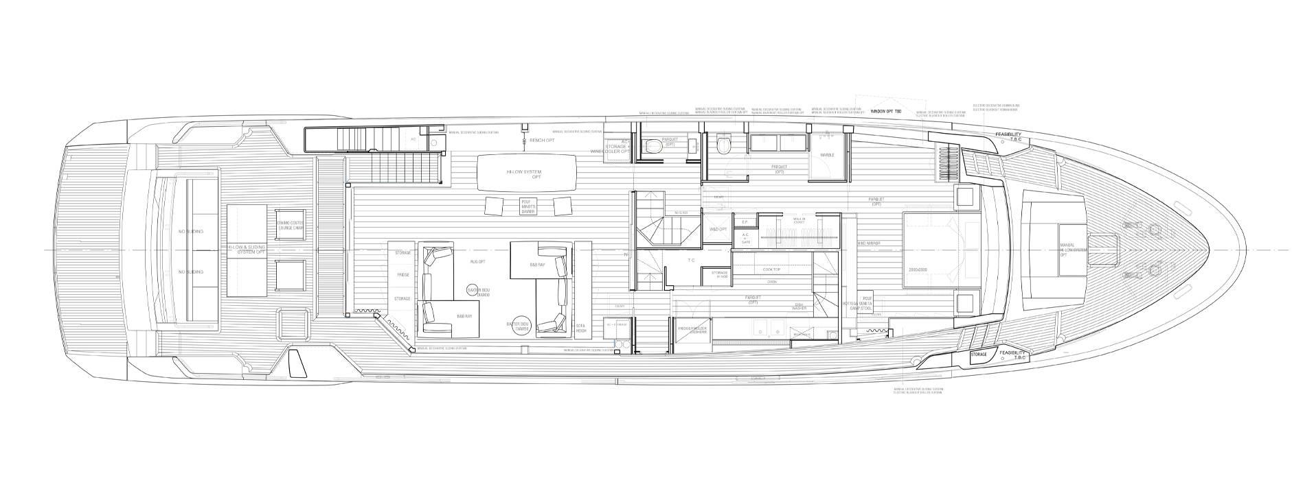 Sanlorenzo Yachts SL102A-746  Hauptdeck