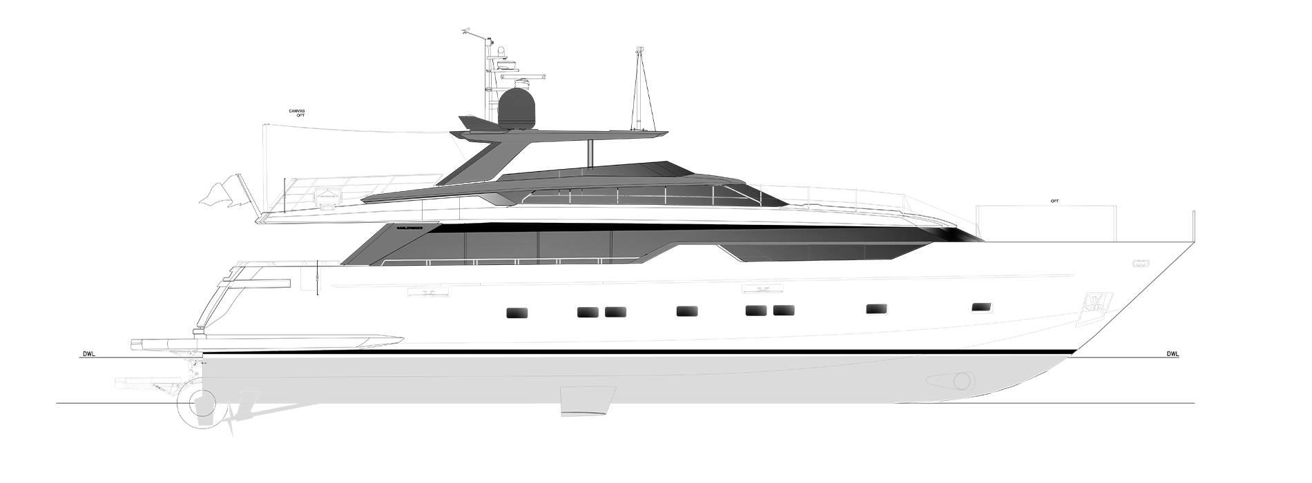 Sanlorenzo Yachts SL102A-746  Profil