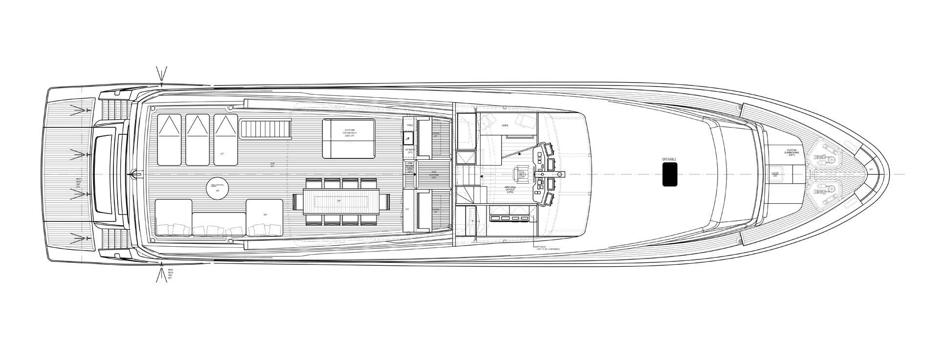 Sanlorenzo Yachts SL106-725 Außendeck