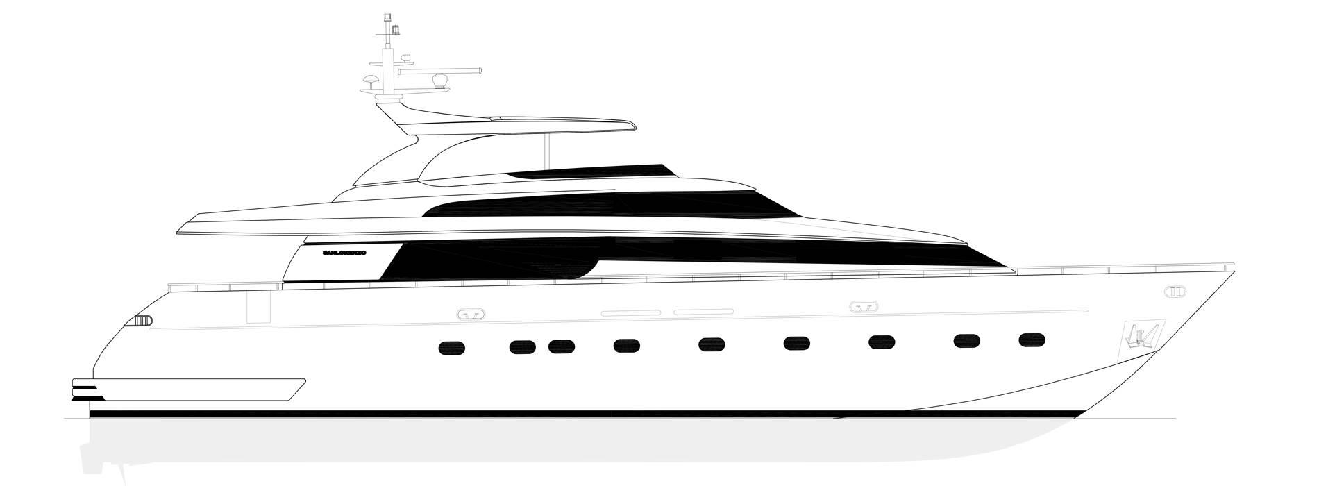 Sanlorenzo Yachts SL88-541 Profile